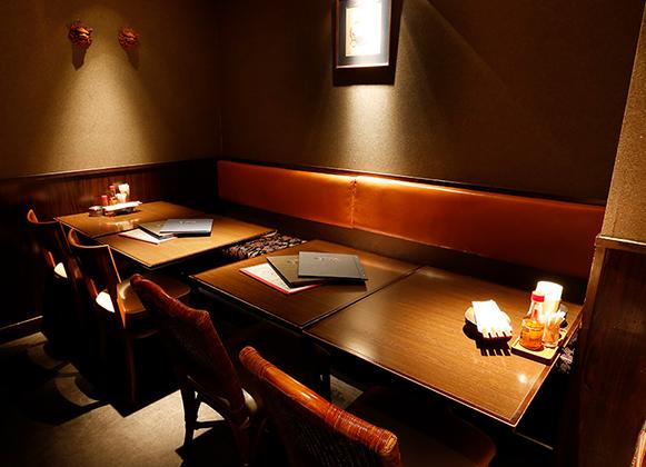 テーブル席 ~8名様