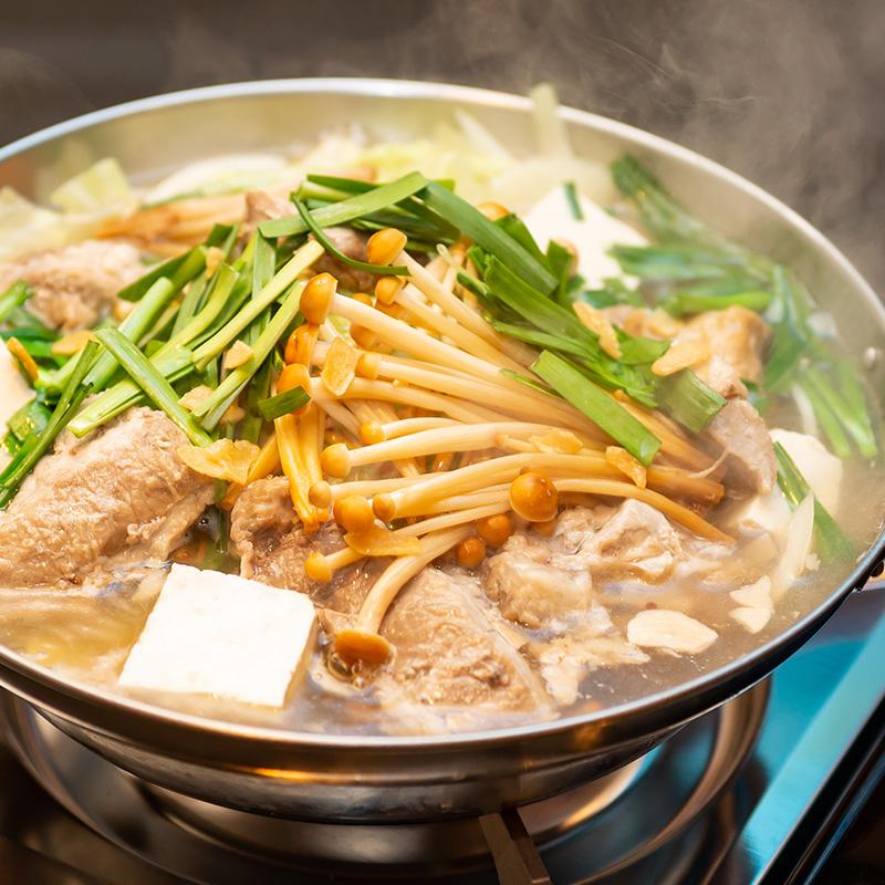 【2時間飲み放題付】2種の鍋から選べるソーキ鍋コース<全8品>5,000円(税込)